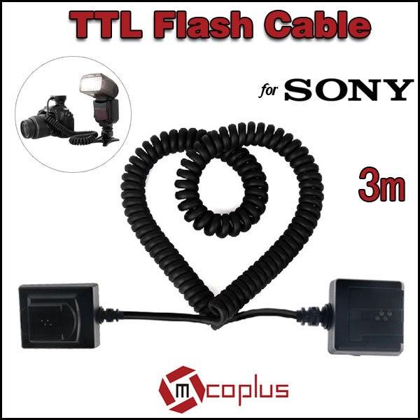 Meike 3m E-TTL TTL sincronización del Flash Cámara Cable para Sony A900...