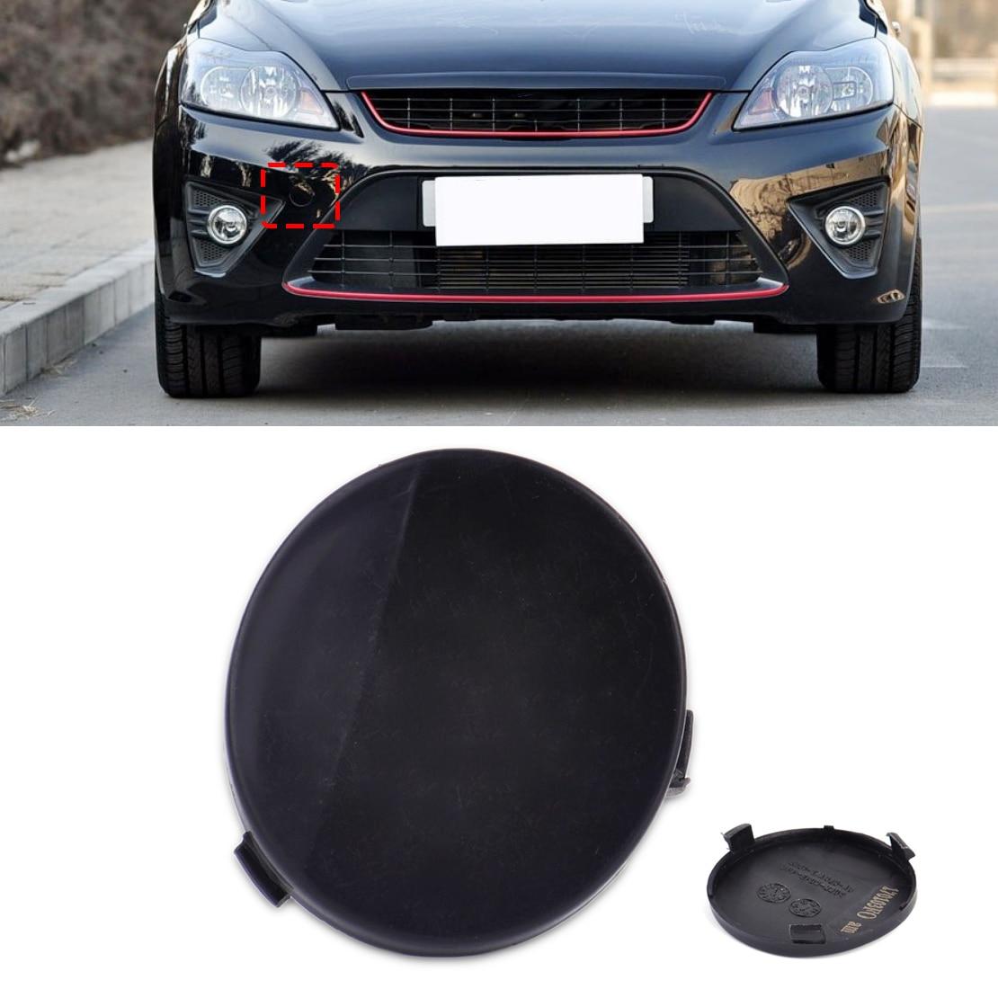 DWCX новый автомобиль черный пластиковый передний бампер Буксировочный Крюк Крышка 8M51-17A989-AB 8M5117A989AB для Ford Focus II 4 двери 2009 2010 2011