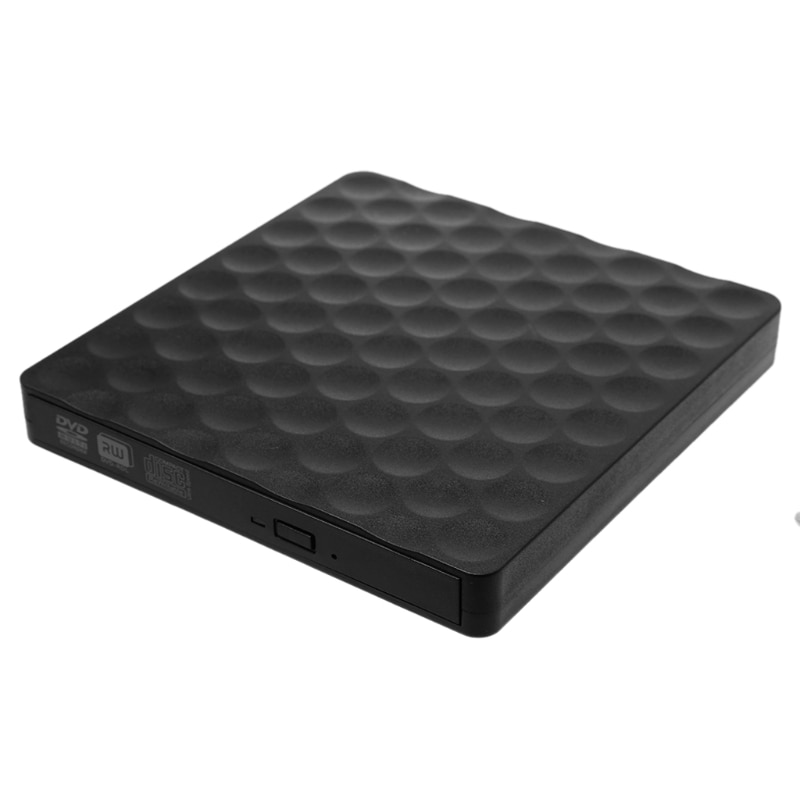 1 juego USB 3,0 disco de DVD-RW externo de CD Rom Rewriter Burner Writer para ordenadores portátiles de escritorio CD ROM caliente