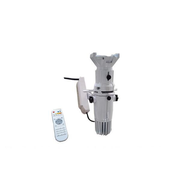 10x lote 26-50 graus 2in1 ww/cw mini 20w perfil luz de ponto leko tv estúdio teatro luz elipsoidal com controle remoto