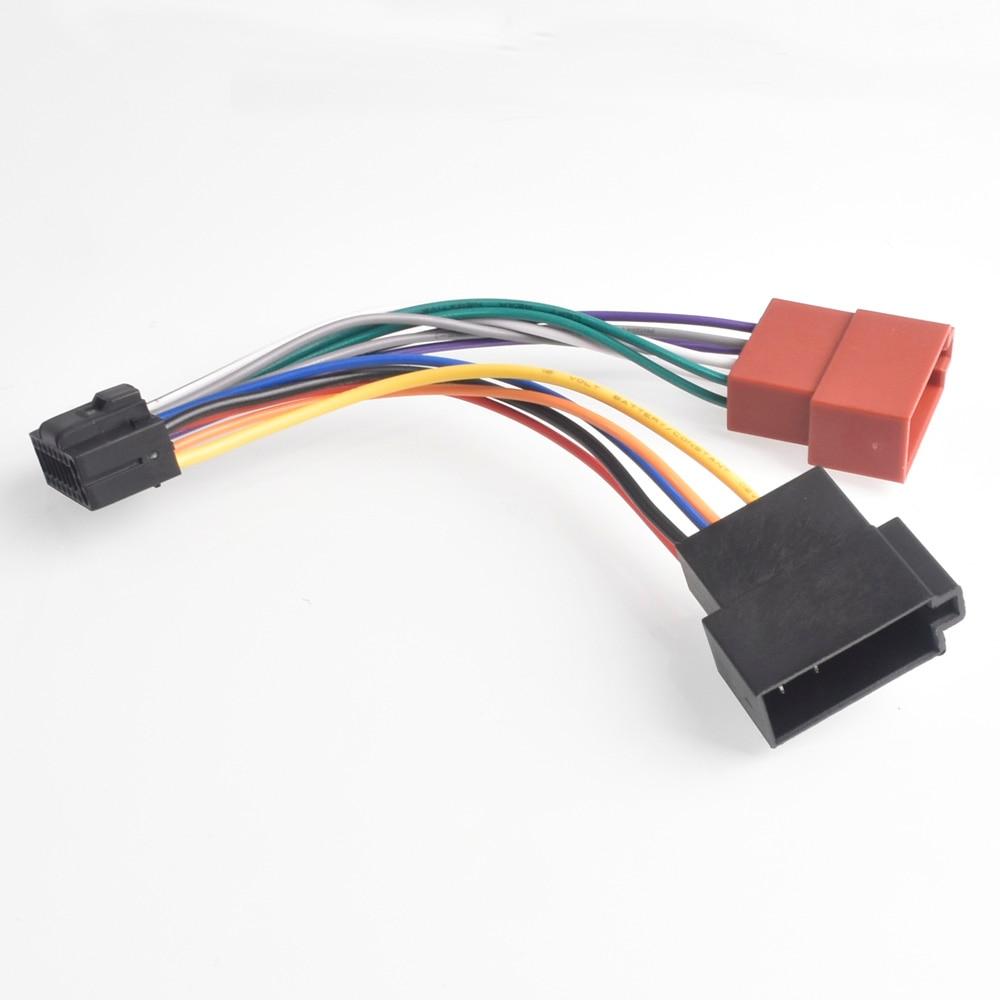 Arnés de Radio estéreo para coche, Conector de arnés de cableado de...