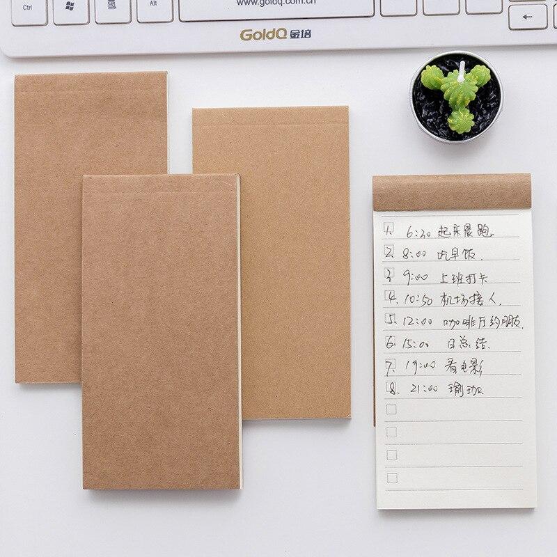 Корейский блокнот для заметок канцелярский блокнот Memopad офисный Декор проверка покупок, чтобы сделать список вкладка для планировщика Книга школьный предмет