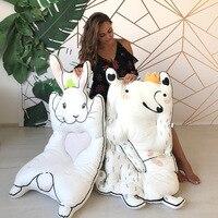INS, белый кролик, енот, игровой коврик, детское одеяло, утолщенный коврик для ползания, игровой коврик
