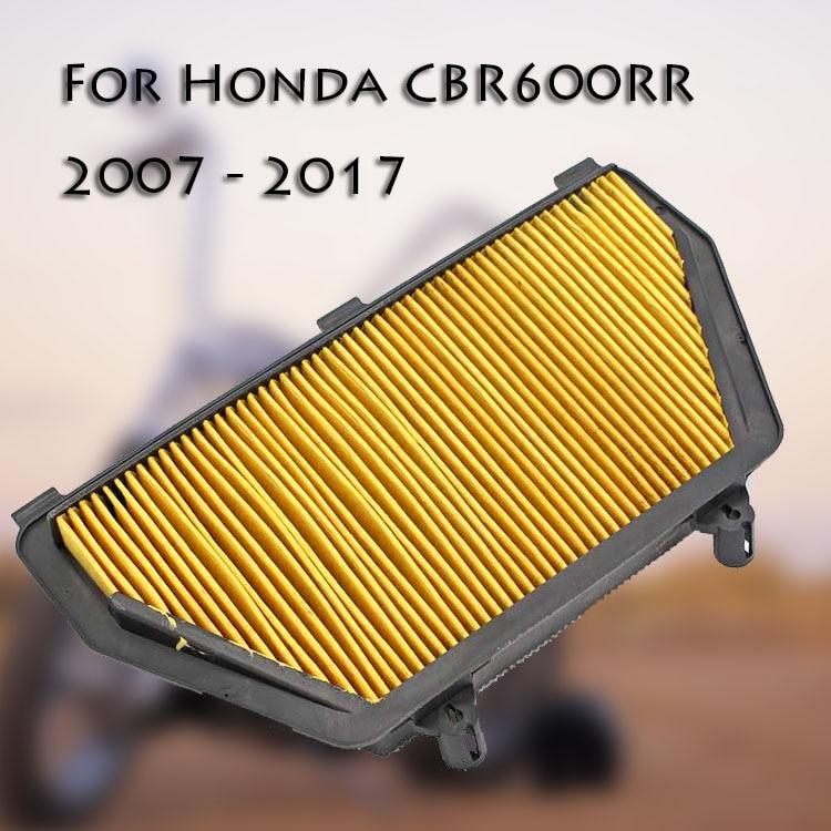 Motorcycle Air Filter Intake Cleaner for Honda CBR600RR F5 CBR 600 RR CBR 600RR 2007 2008 2009 2010 2011 2012 2013 2014-2017