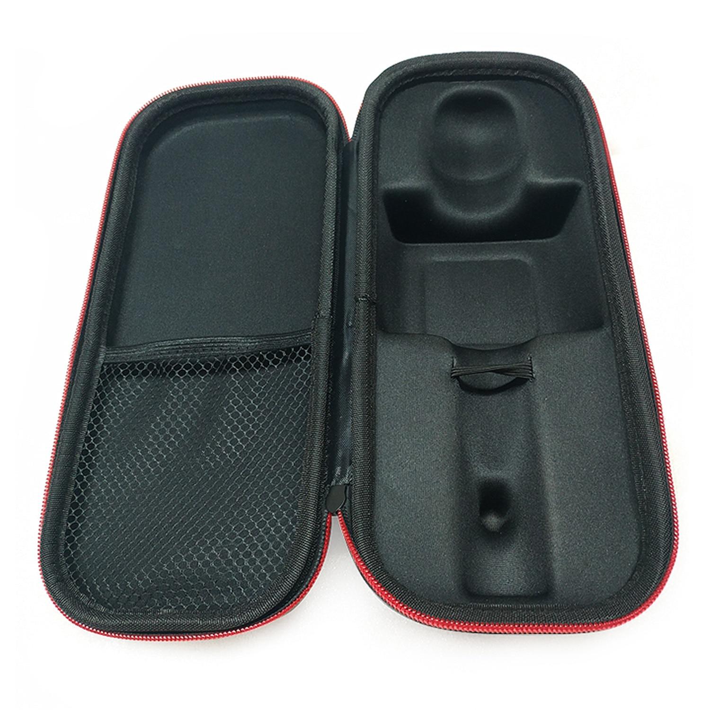 Besegad, portátil, impermeable, a prueba de golpes, bolsa protectora de almacenamiento para Estuche de transporte, para micrófono inalámbrico Q7