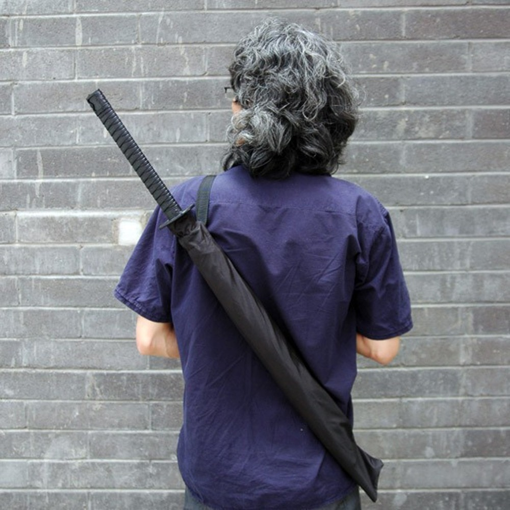 Free shipping 30pcs/lot Japanese Samurai Swords Umbrella Katana Umbrellas Creative Umbrellas #01