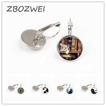 ZBOZWIE Wholesale Different Cat earring Yin Yang Cat earring Vintage earring Statement earring Women Jewelry Men Gift