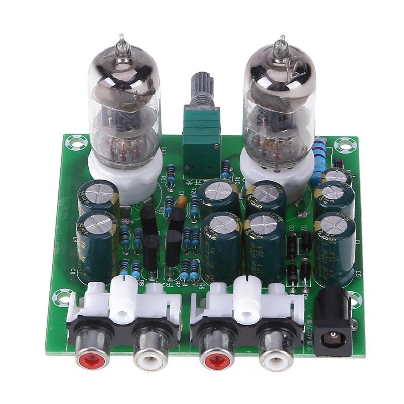 6J1 Tube Amplifier Kit Diy Amplifier Kit Hifi Stereo Electronic Tube Preamplifier Board Preamp Lamp Amplifer Module Bile Amp