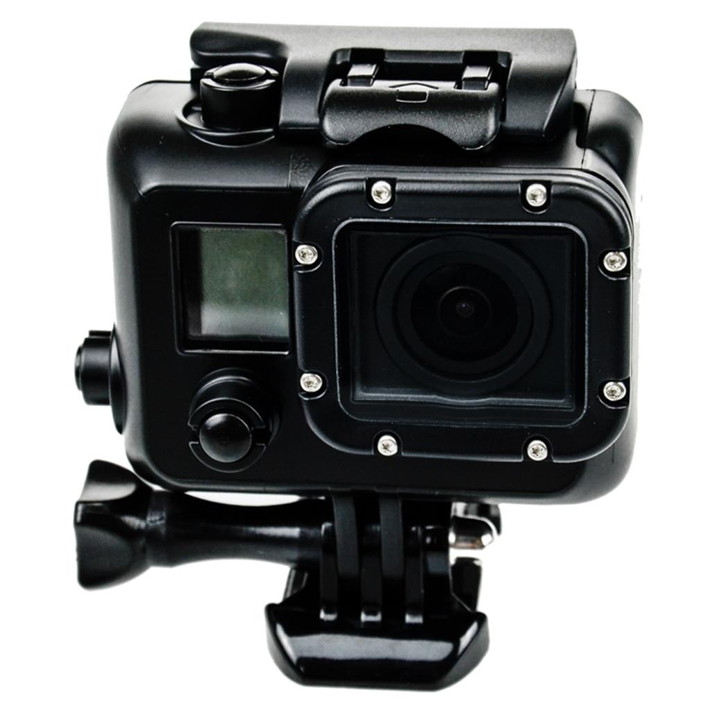 Caja impermeable Blackout caja subacuática de protección de buceo reemplazo para cámara GoPro Hero 3 4