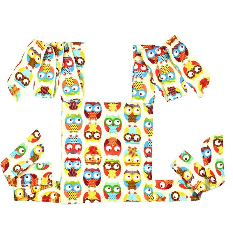 Portador de muñecas para bebé Mei Tai Honda juguetes para chicos, niños, bebés regalo frente a búho de punto de Fox