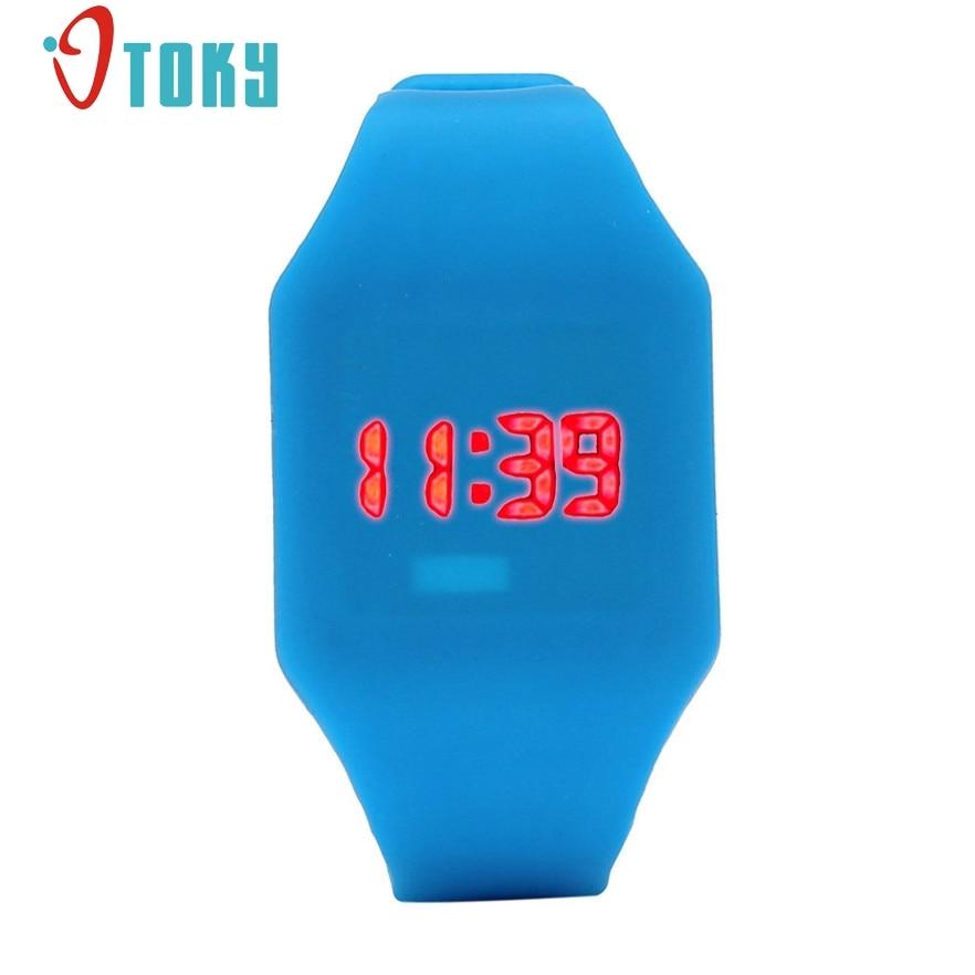 ¡Novedad! Reloj de pulsera Digital de silicona LED para hombre y mujer, reloj de pulsera deportivo #30 Regalo 1 Uds