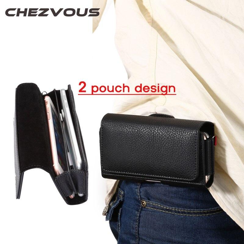 2 Tasche Design Gürteltasche für Iphone 4 5 6 7 Handys Handytasche Fall Gürtelclip Tasche Männer Geschäftsbrieftasche für Iphone 6 7 Plus