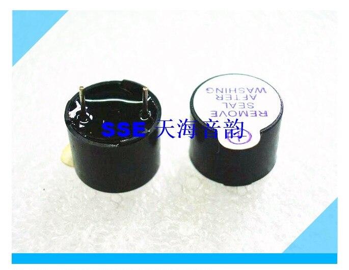 12x9.5 buzzer ativo 5VDC um pino comum bicicleta bloqueio inteligente respeitadores do ambiente de alta temperatura