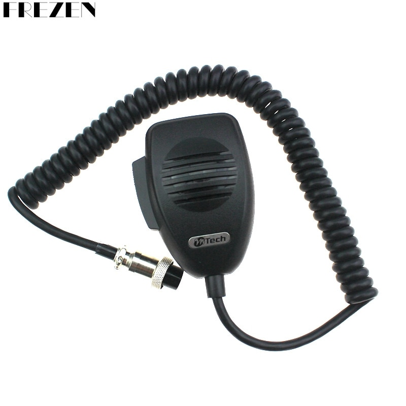 CB-12 Microphone 4 Pin Connector Ham Mic Mobile Radio Speaker For Cobra Uniden Galaxy Car CB Radio Two Way Radios