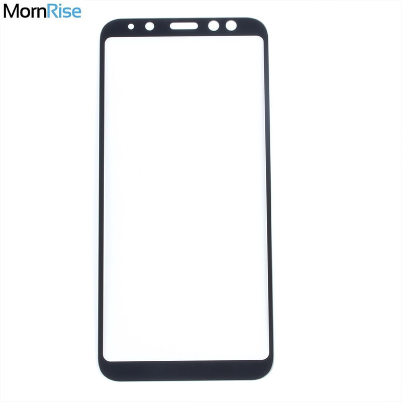 Película de vidrio templado de cobertura completa de 0,26mm para Samsung Galaxy A6, A6 Plus, A6 + 2018, Protector de pantalla de cristal, Protector de pantalla de 9H