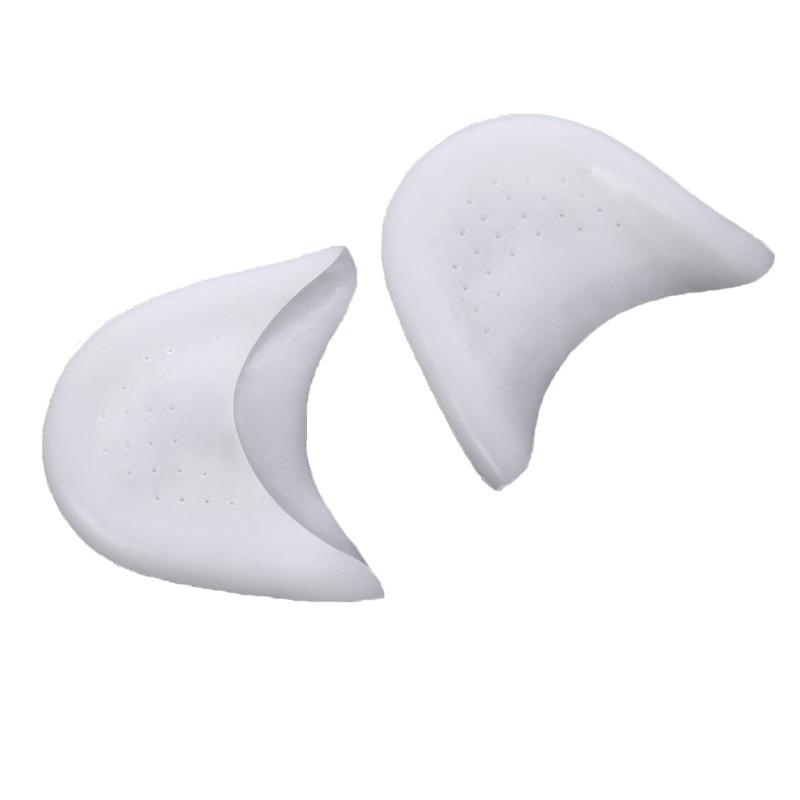 2 pares = 4 Uds. Almohadillas para los dedos del pie Ballet Brace Shoes Pads Protector Hallux Valgus Orthotics almohadillas de Gel de silicona insertos herramientas de cuidado de los pies