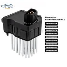64116920365 Voor BMW E39 E53 E83 E46 E36 325 328 Blower Motor Weerstand AC Heater Fan 64116931680 64118380580 64116929540