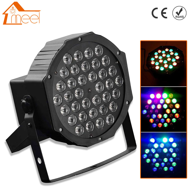 36 LED Luz de escenario RGB bola mágica de cristal bombilla DMX Par luz 110-240V discoteca Club fiesta Luz