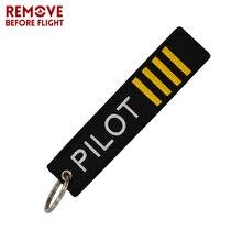 Mode Pilot Flug Schlüssel Kette Chaveiro Schmuck Stoff Stickerei Schlüsselbund Tasche Hängen Schlüssel Tag OEM Schlüssel Ring Bijoux Luftfahrt Geschenk
