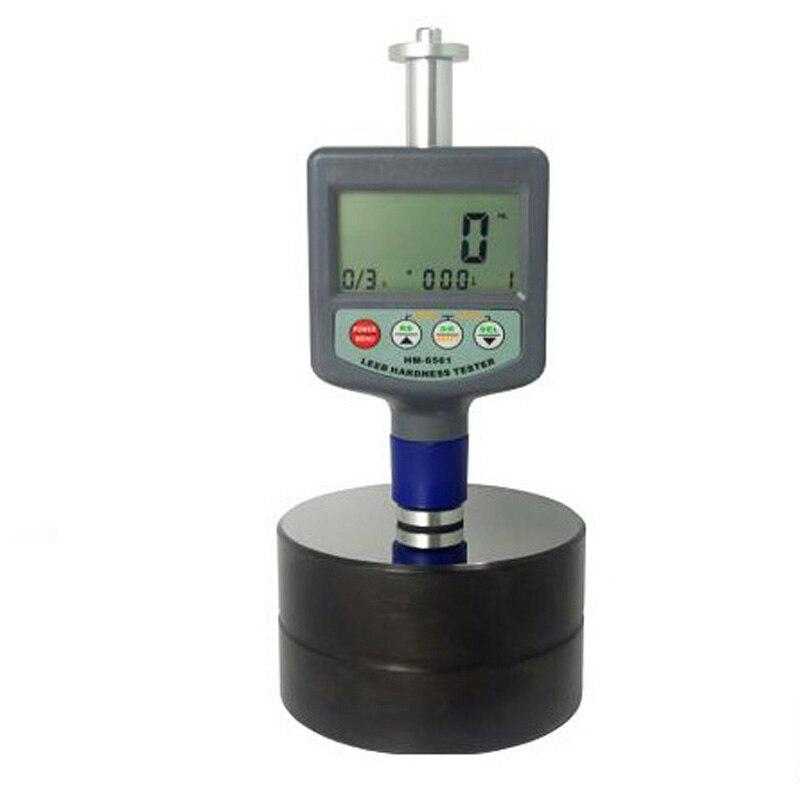 Leeb HM6561 probador de dureza de Metal 200 ~ 900 HLD medidor de dureza Digital portátil con bloque de hierro