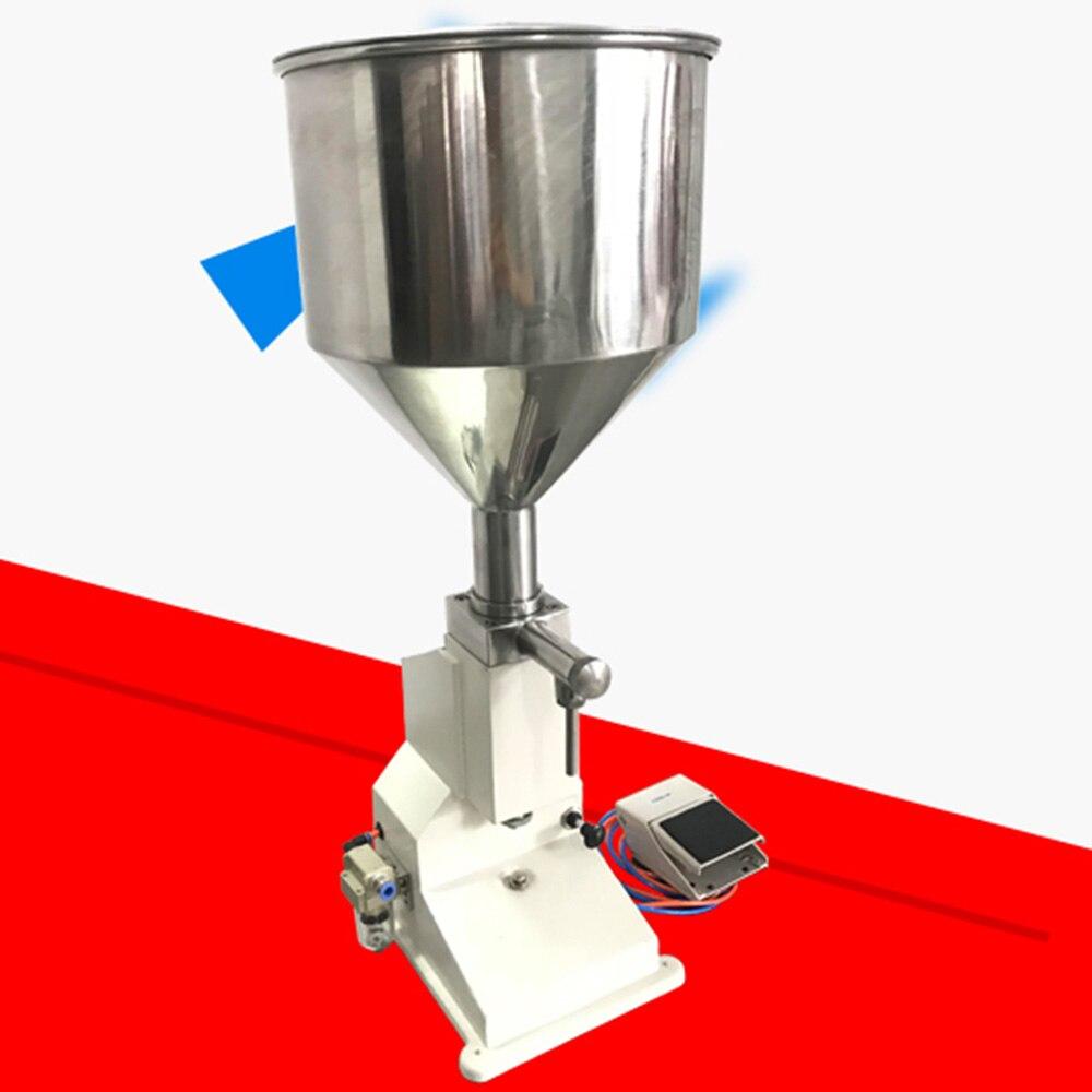 Máquina de llenado neumático crema de protección solar miel Eliquid aceite cosmética de uñas pulidas pasta licor perfume de relleno jugo líquido Uv