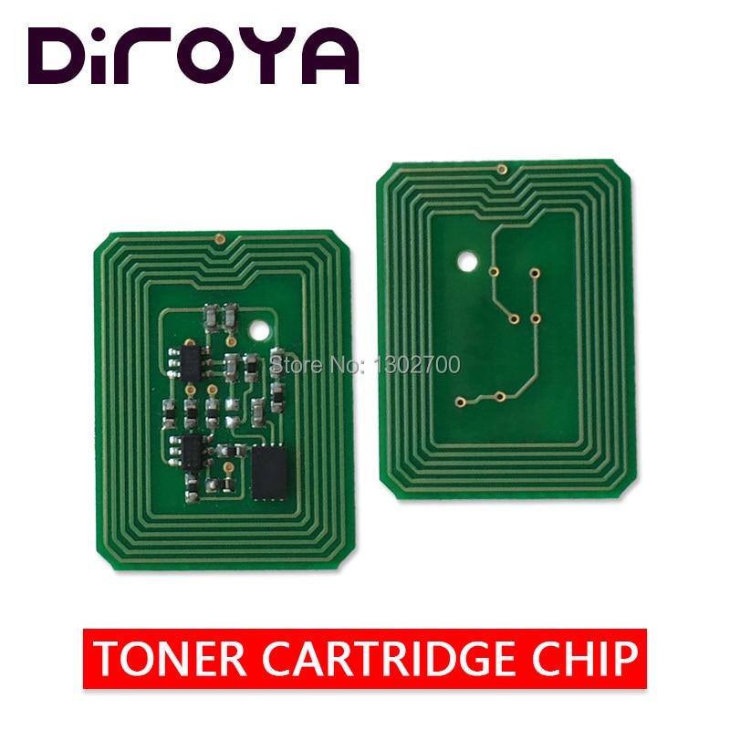 4PCS 43459408 43459407 43459406 43459405 Toner Cartridge chip For OKI DATA C3400 C3300 C 3300 3400 printer powder reset EUR
