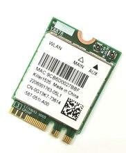 Nouveau Wlan 2-en-1 Killer Wireless 1535 802.11 A/b/g/n/ac + Bluetooth 4.1; M.2 2230 Wifi carte réseau 802.11ac 867 mbps Ethernet