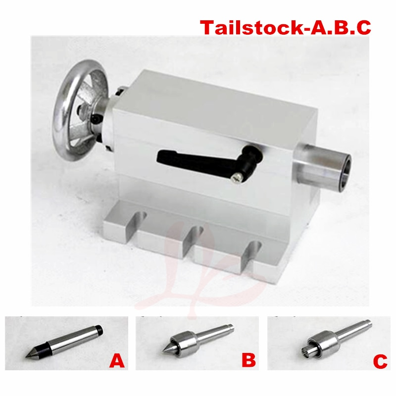 CNC Tailstock Rotary Axis A Axis 4th Axis suitable mini cnc Milling Machine the open source openpilot mini cc3d flight control traverse machine qav250 330 uses multi axis four axis equivalent to f3