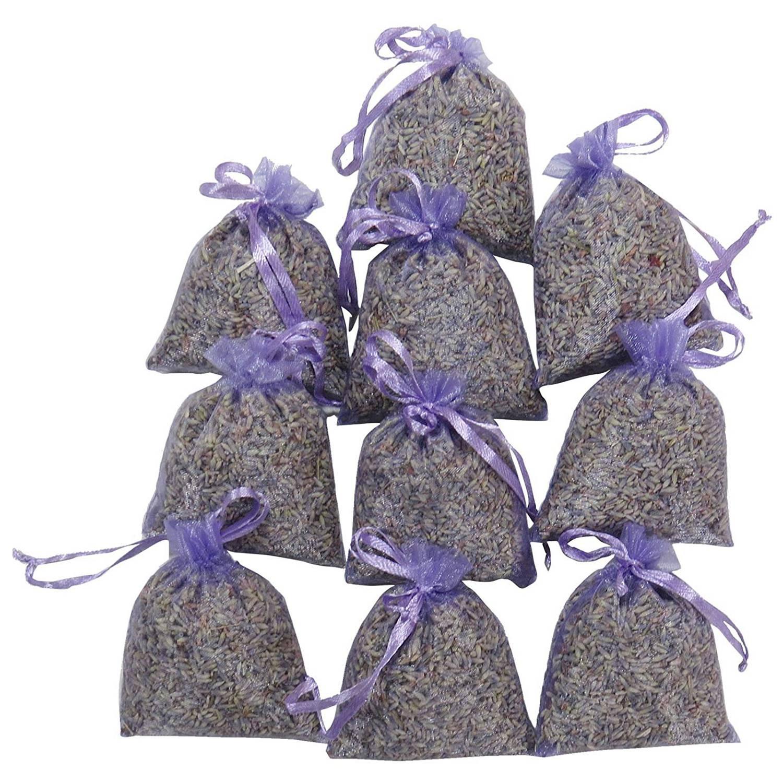 Lavendel Verpackung 15 Packs   Natürliches Deodorant, Getrocknete Blumen Beutel, Höchste Duft Lavendel Duft Sachet