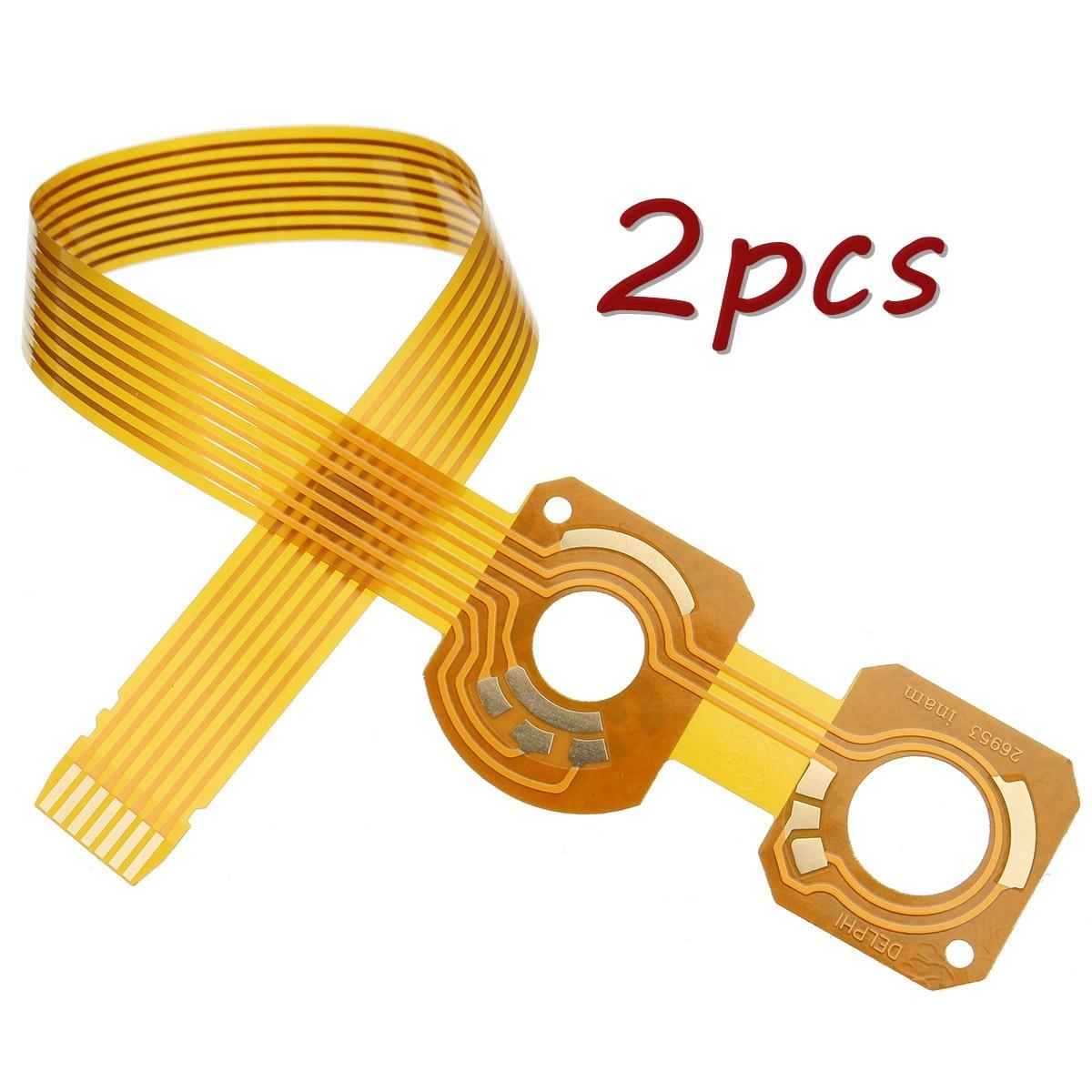 2 шт., переключатель сигнала поворота для автомобиля, гибкий/ленточный кабель, рулевая колонка для peugeot, для citroen COM2000 COMM2000