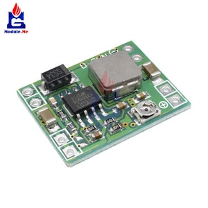 2Pcs/Lot Mini 3A Adjustable DC-DC 3A 4.5-28V To 0.8-20V Buck Converter Step Down Power Supply Module for Arduino Replace LM2596