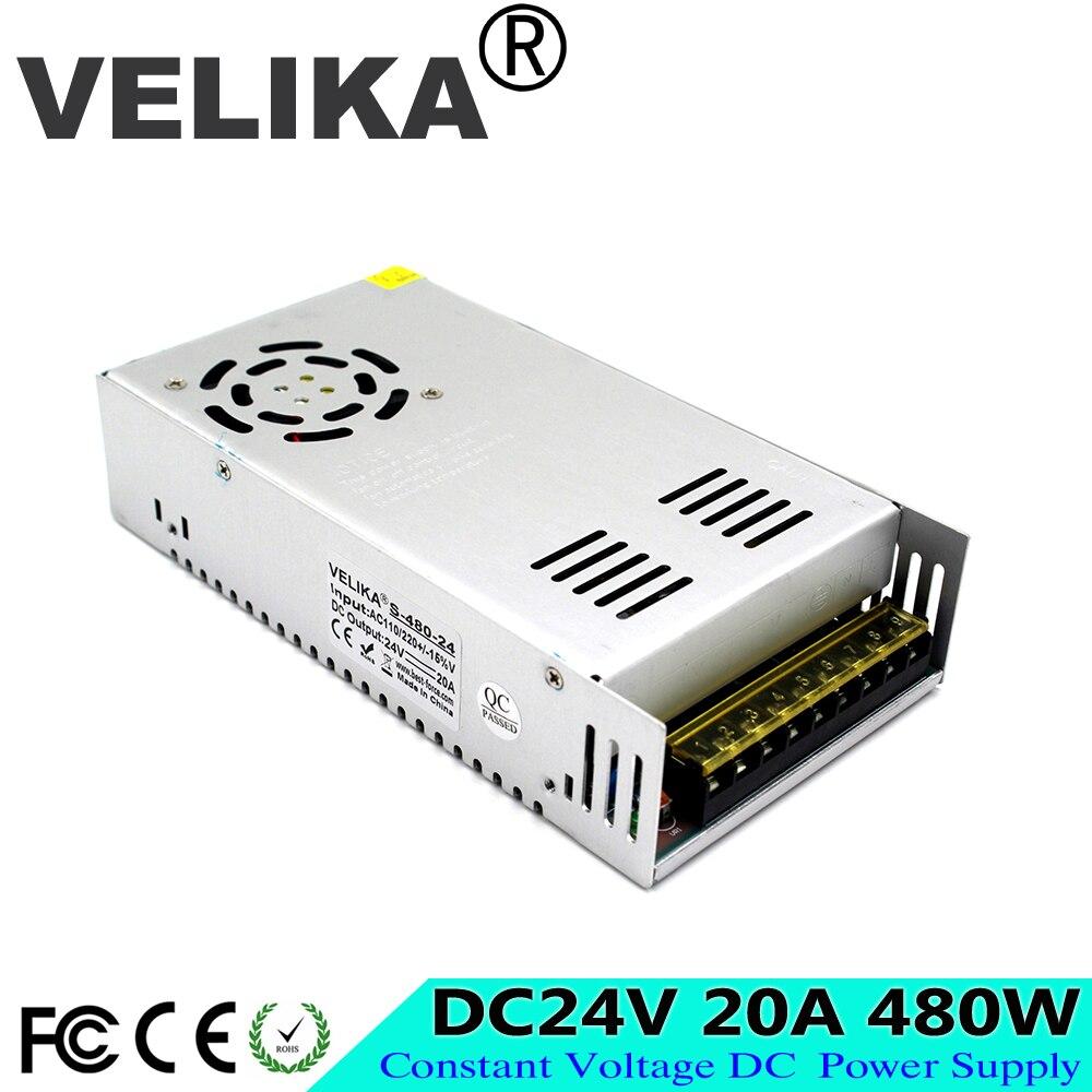 Fuente de alimentación DC12V 13,8 V 15V 18V 24V 27V 28V 30V 32V 36V 42V 48V 48V 60V 480W transformador AC DC 12V DC24V DC36V DC48V DC60V SMPS