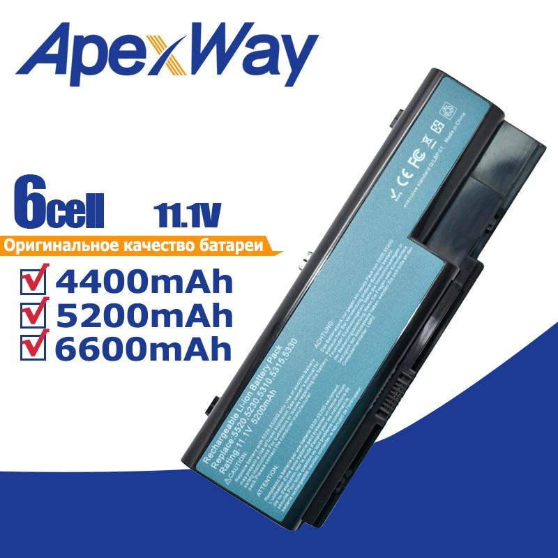 11,1 V batería para Acer Aspire 5230, 5235, 5310, 5315, 5330, 5520,...