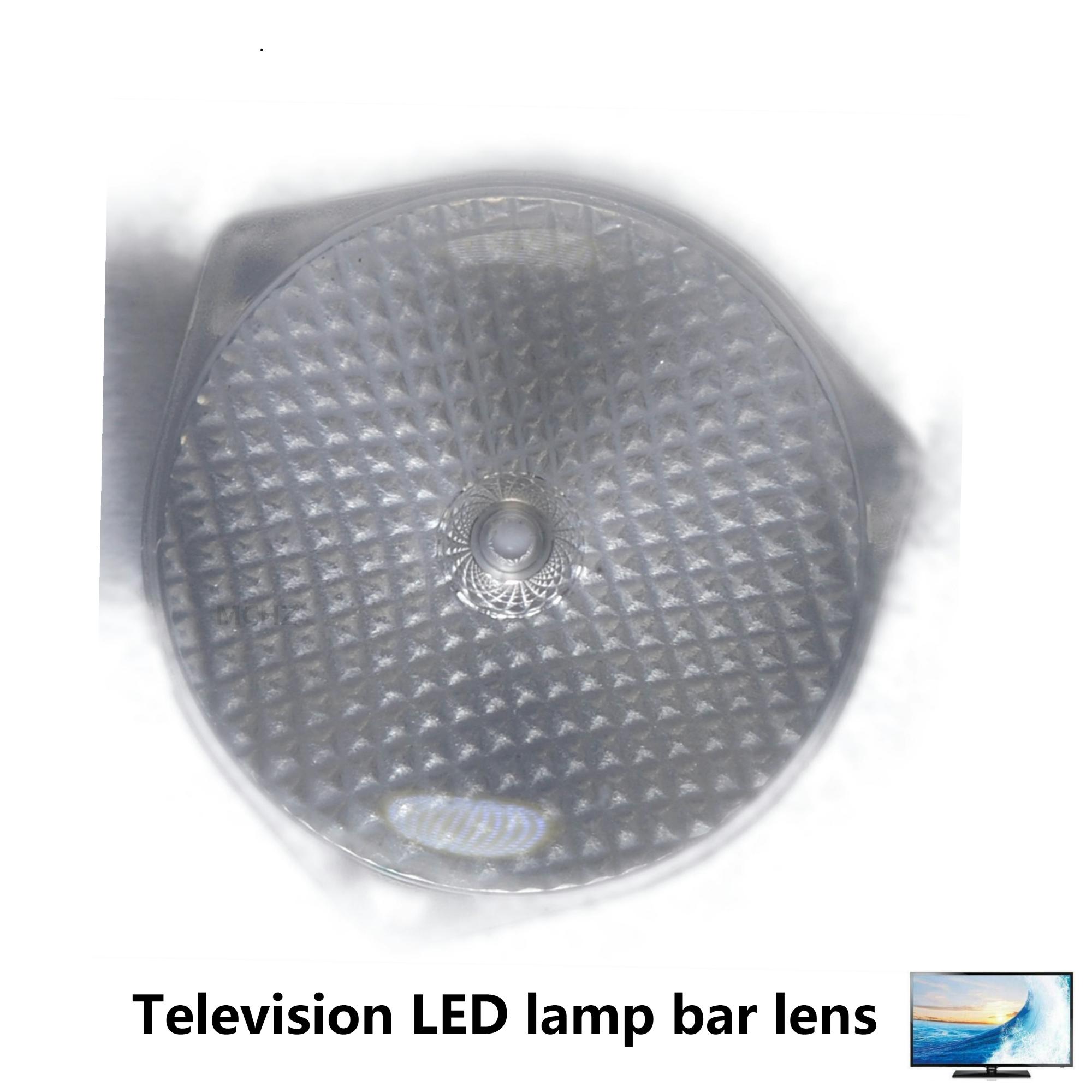Lentes de 1000 piezas para productos para esos modelos Konka, Skyworth, Changhong, Hisense, TCL, TV LCD LED, lente de cuentas 2835, 3528, 3030,