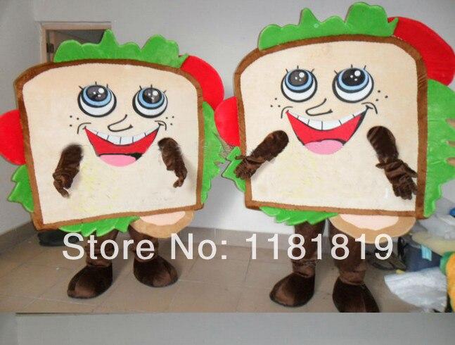 MASCOT Sandwich mascot costume custom fancy costume anime cosplay mascotte fancy dress carnival costume