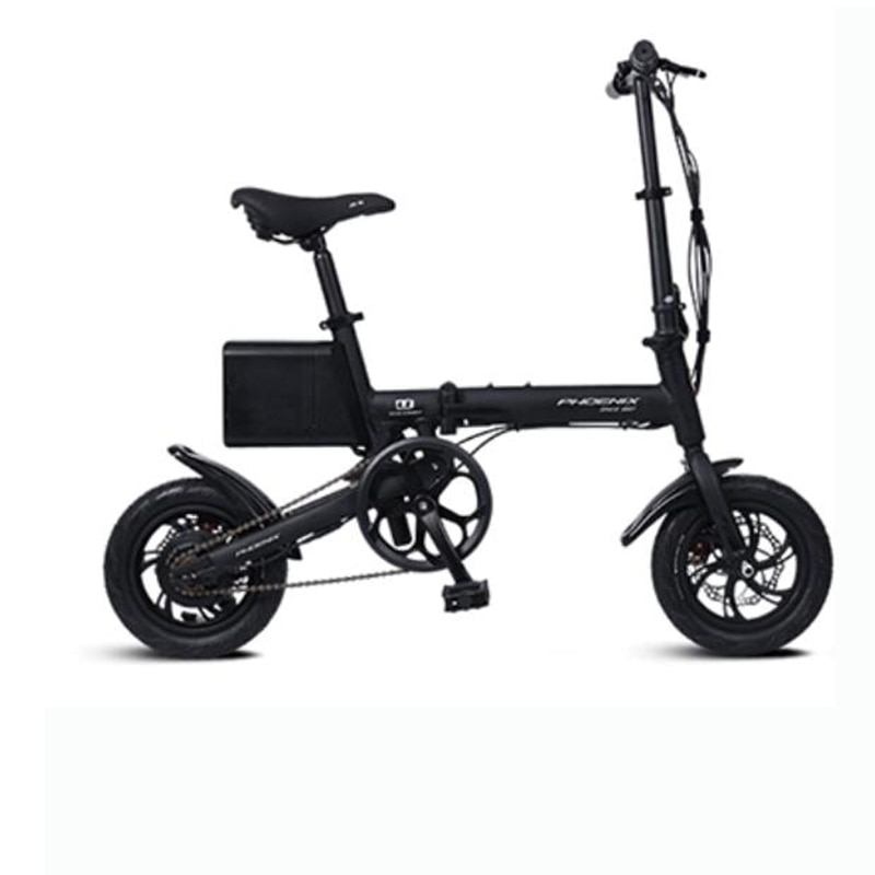Electric adult small folding vehicle  male and female lithium battery booster car