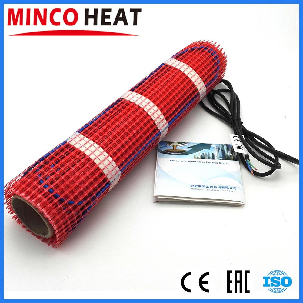 Водостойкий напольный термостат Minco Heat, термостат для подогрева пола, 230 В, 150 Вт