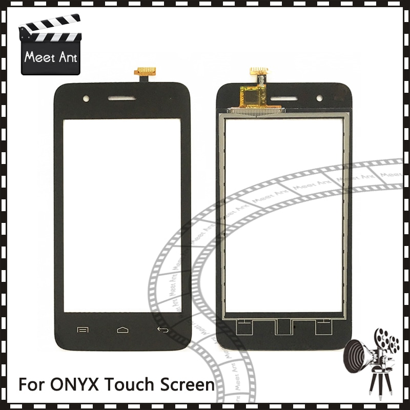 "Reemplazo de alta calidad 4,0 ""para Explay ONYX Sensor de Digitalizador de pantalla táctil Panel de lente de vidrio exterior"