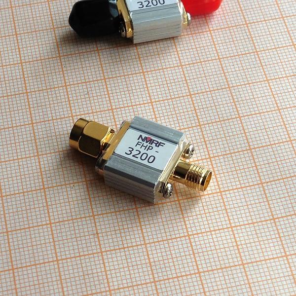 FHP-3200 3200MHz عالية تمرير مرشح RF محوري LC تصفية SMA واجهة