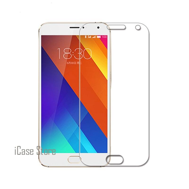 Barato mejor Anti-explosión 2.5D 0,26mm 9 H dureza teléfono móvil frontal Cristal templado Cristal para Meizu meizy Miezu M3s 5,0