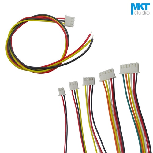 10 Uds 20cm solo XH2.54 Header AWG26 Cable de alambre colorido muestra 2P 3P 4P 5, P 6P 7P 8P 9P 10P 11P 12P