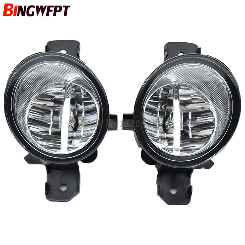 Front LED Fog Lights For NISSAN X-TRAIL (T30) 2001-2002 2003 2004 2005 2006 Auto bumper Lamp H11 Halogen Light Bulb