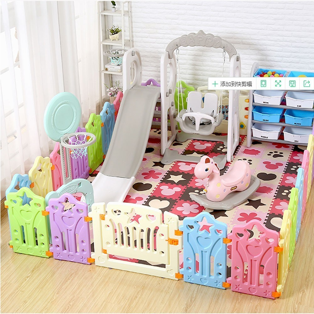 Kids Playground Baby Fence Indoor Park Family Amusement Toys For Children Safety Playpen For Baby Ba