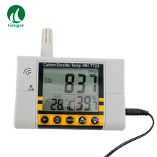 AZ7722 mesure de capteur infrarouge Non dispersif moniteur de dioxyde de carbone AZ-7722 performance de dérive faible du testeur de dioxyde de carbone