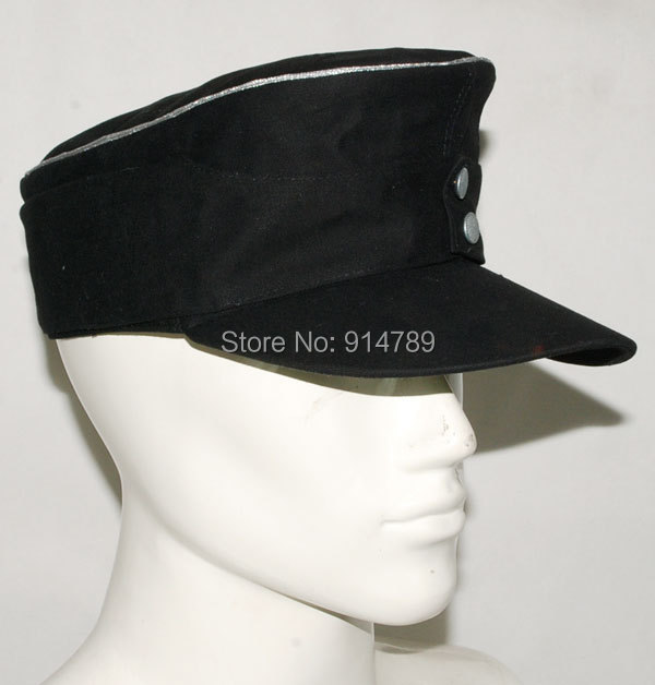 WWII GERMAN ELITE OFFICER SUMMER PANZER M43 FIELD COTTON CAP L -32045