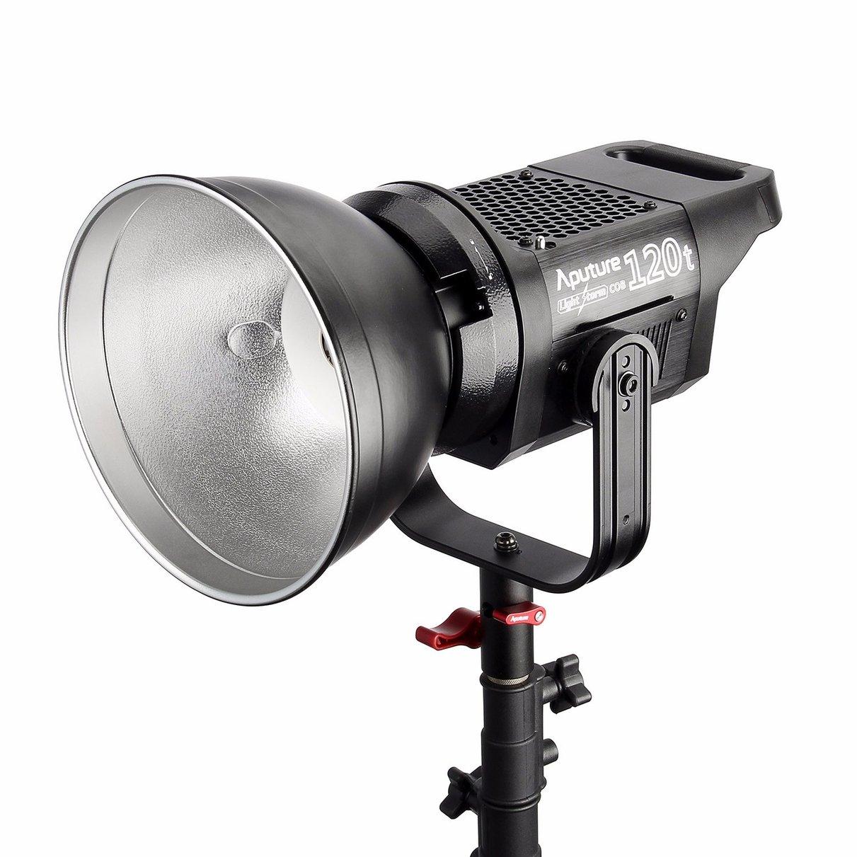 Aputure ¿C120t luz tormenta 135 W CRI moren que 97 LED Video Studio Luz de montaje en V Bowen