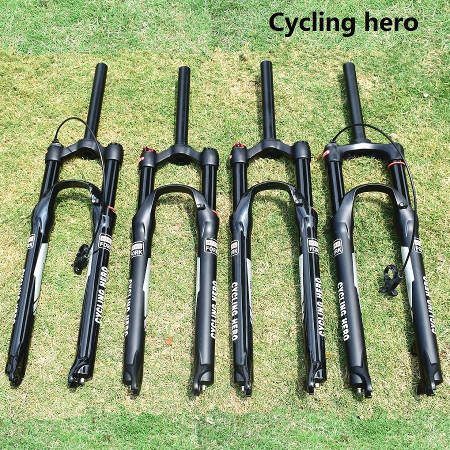 XC tenedores MTB suspensión neumática bicicleta Plug bicicleta de montaña horquilla 32MM 100MM 120MM más alto precio de viaje que SR SUNTOUR FOX SID EPIXON