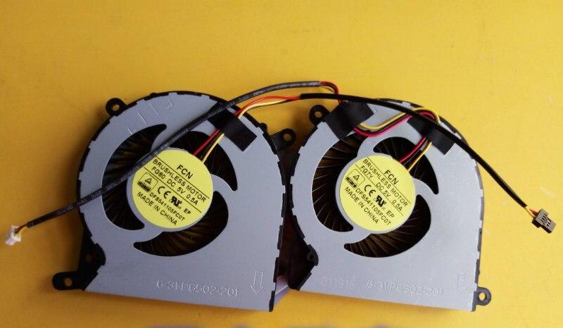 SSEA Оптовая продажа Новый GPU вентилятор охлаждения для Clevo P651SE P651SG P650SA P650SE Ноутбук GPU вентилятор P/N DFS541105FC0T FG80 FG7Y