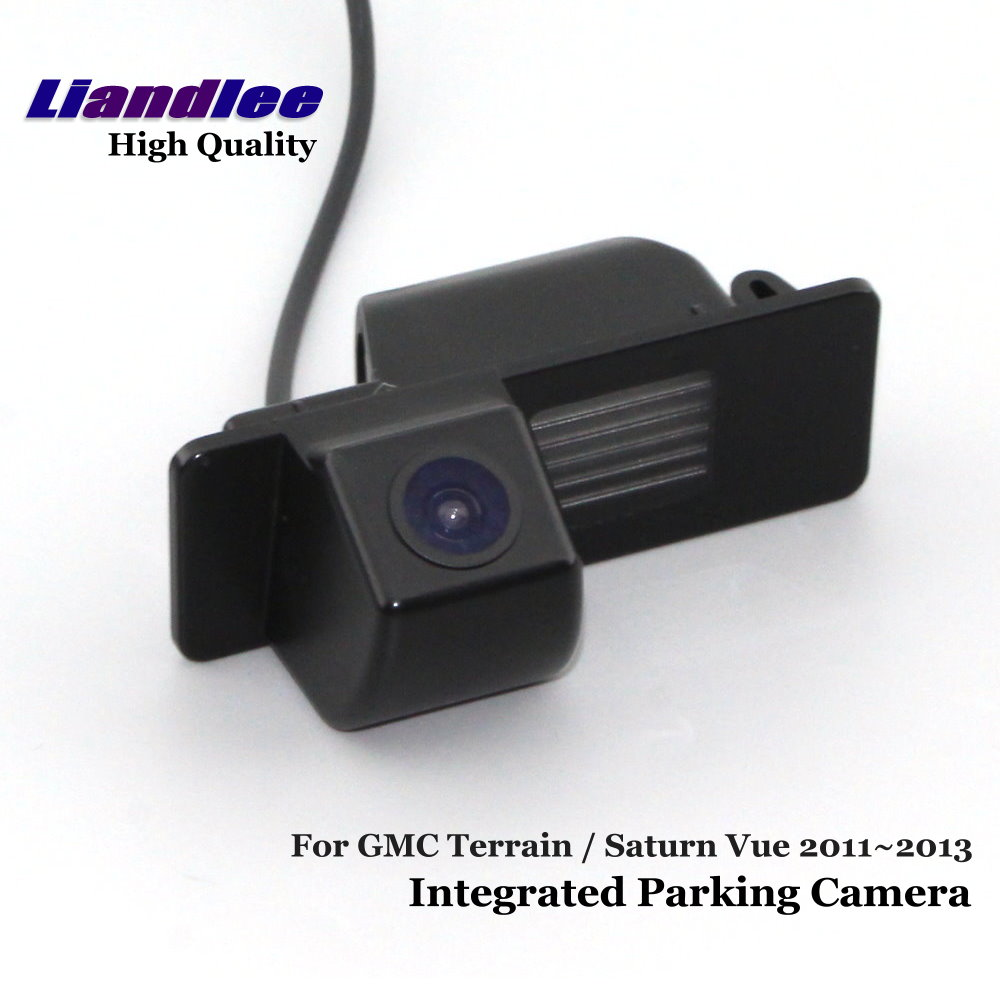 Liandlee vista trasera de coche de cámara de estacionamiento para GMC terreno/Saturn Vue 2011 ~ 2013 retrovisores cámara de marcha atrás/SONY CCD HD