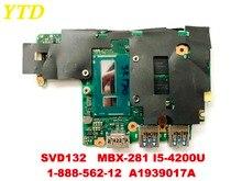 الأصلي لسوني SVD132 SVD13213CXB SVD1321BPXB اللوحة المحمول MBX-281 I5-4200U 1-888-562-12 A1939017A اختبار جيدة